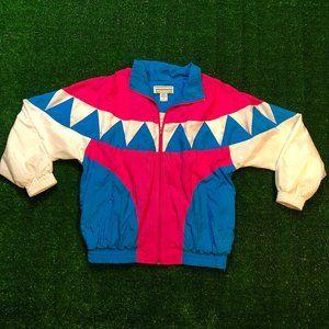 Vintage 80's-90's Windbreaker Jacket